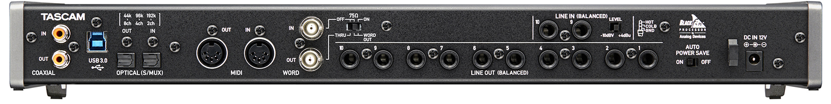 کارت صدا تسکم TASCAM US-20X20 USB 3.0 Audio Interface